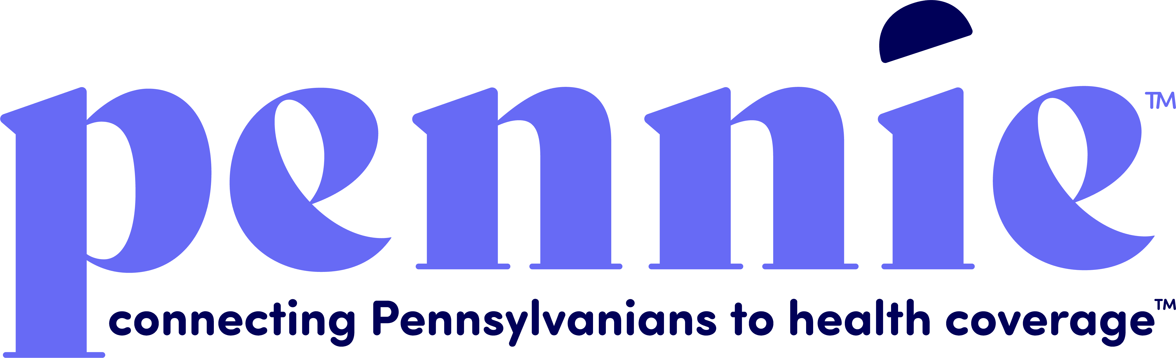 """Pennie logo stating, """"connecting Pennsylvanians to health coverage."""""""