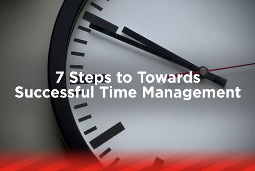 7 Steps Towards Successful Time Management
