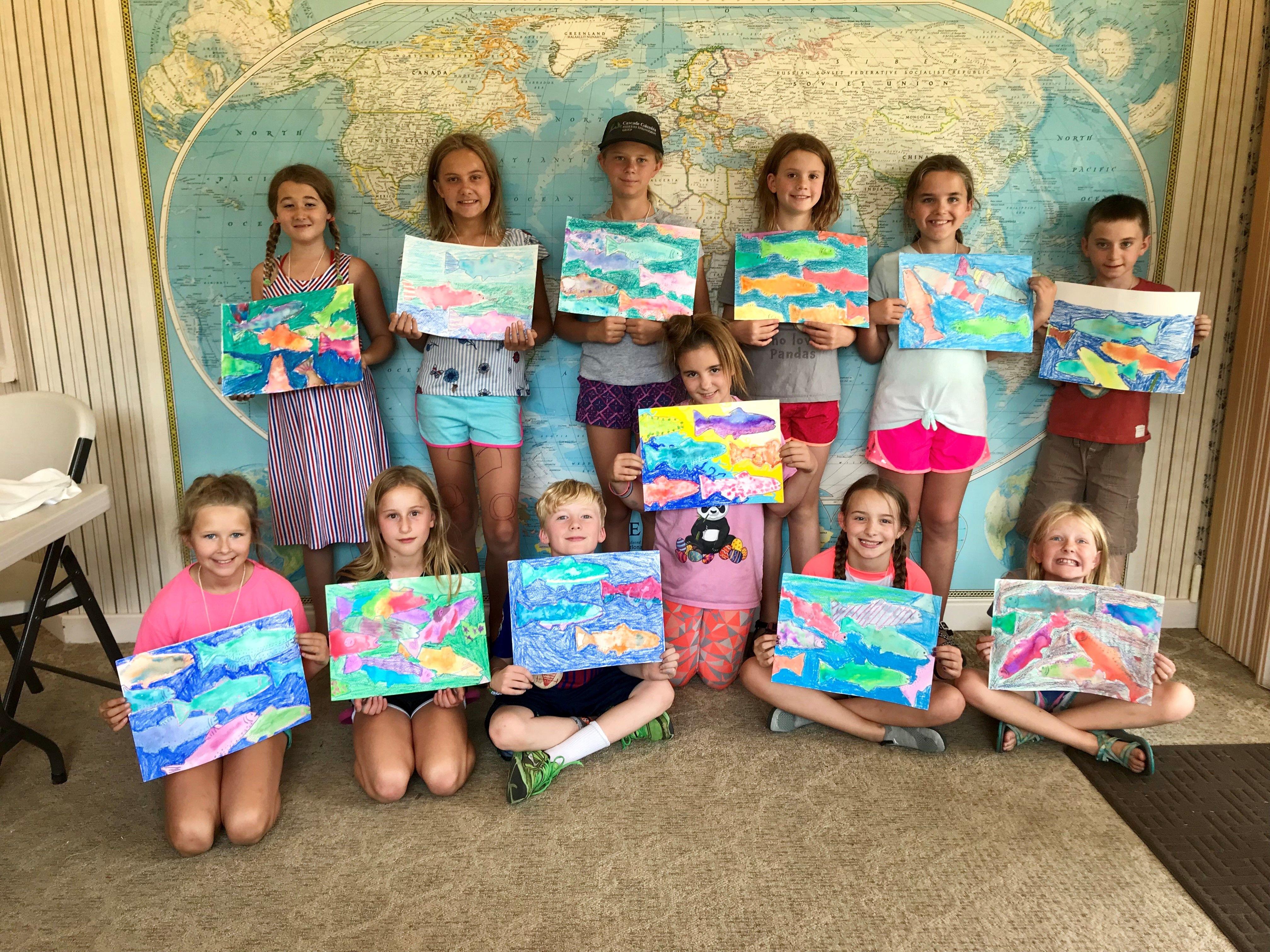 Amazing Artists Camp - (entering grades 4-6)