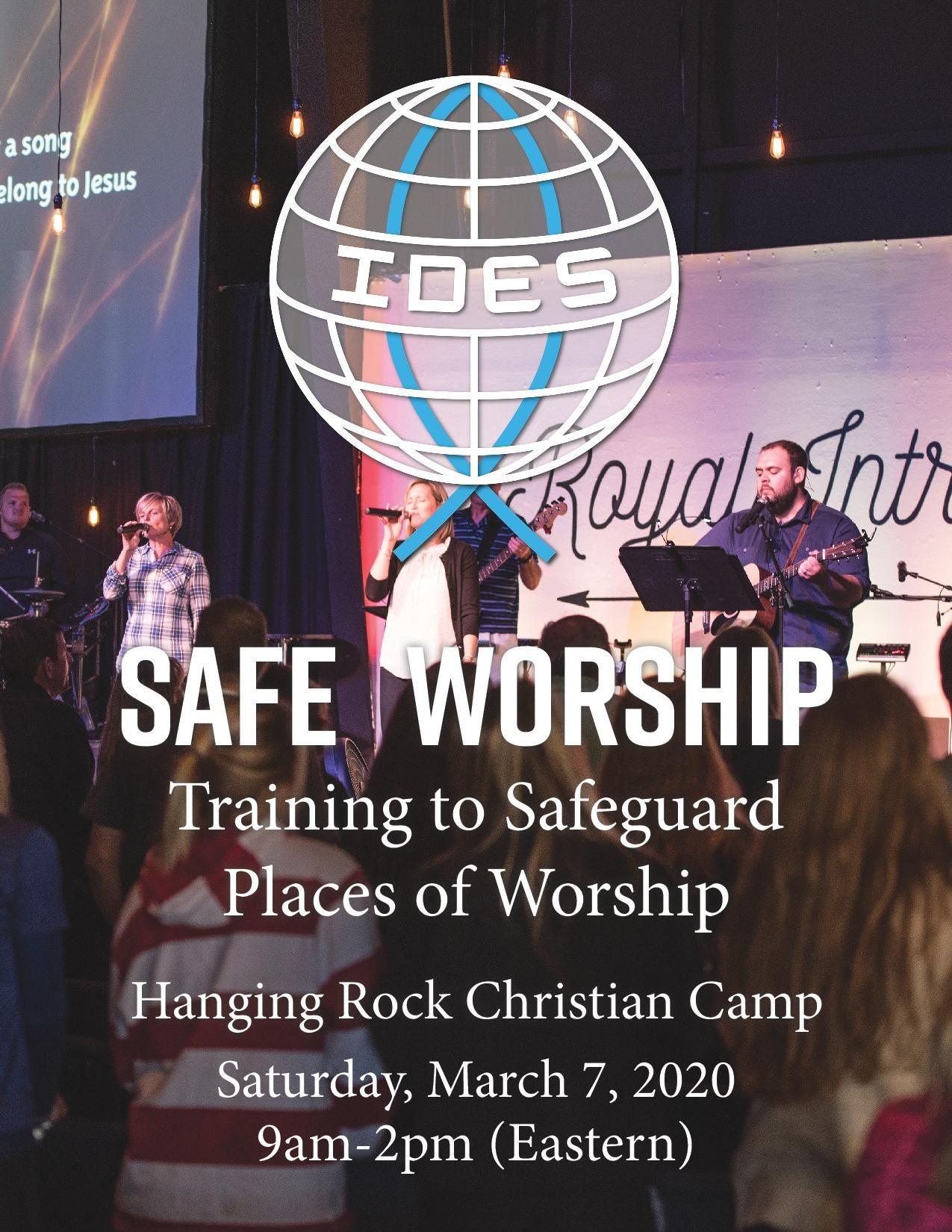Safe Worship Workshop