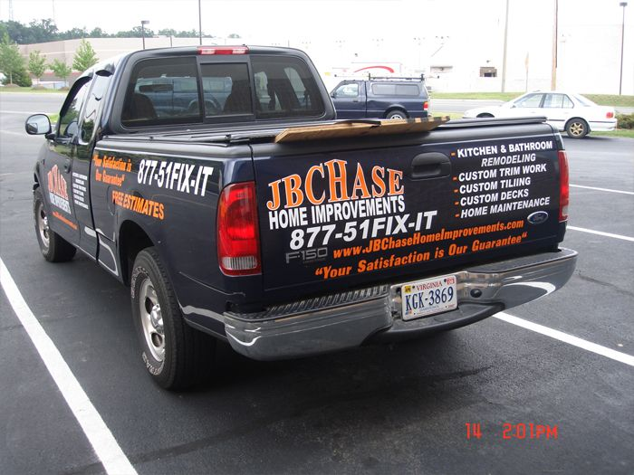 JB Chase Truck Graphics