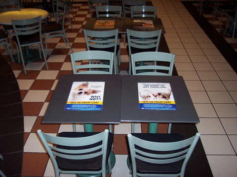 Table Inserts