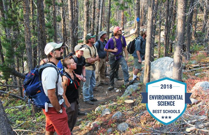 Environmental Sciences Degree Program Ranked Nationally Among the Top Five