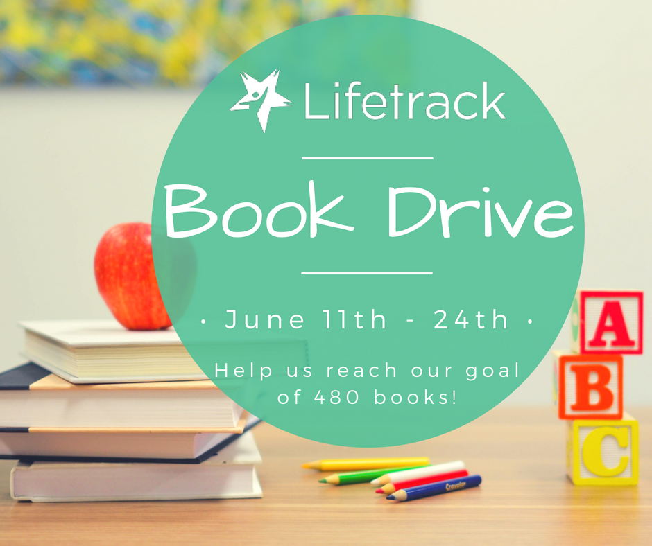 Lifetrack Summer Book Drive