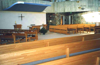 Interior of Current Chapel