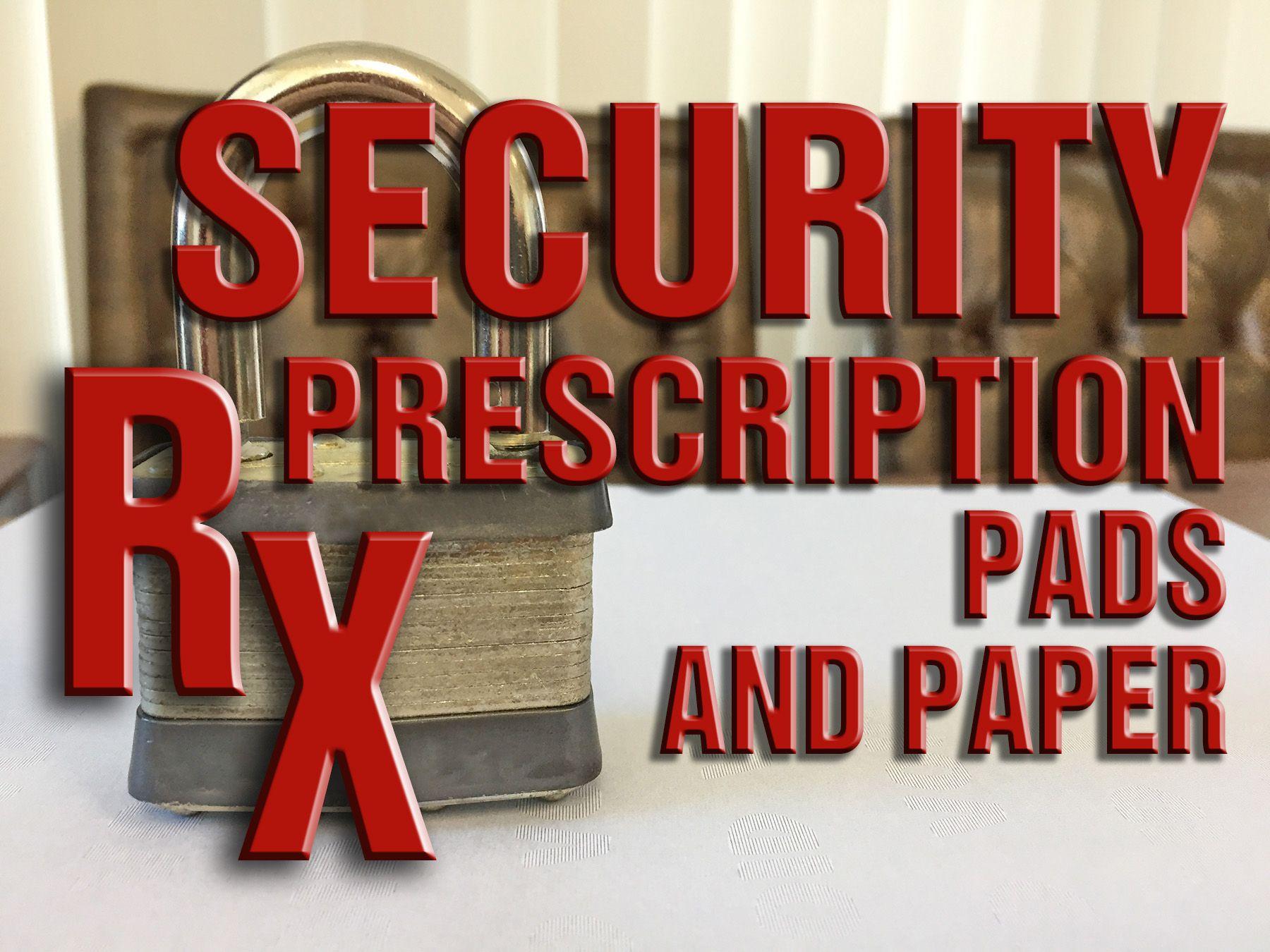 Security Prescriptions