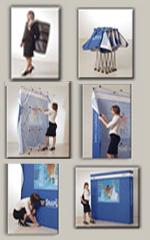 Exhibit Stretch Pop Up Displays