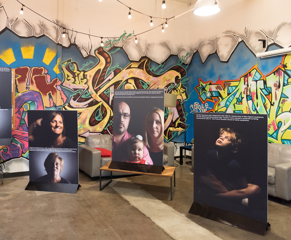 Shine a Light on Usher Syndrome Campaign