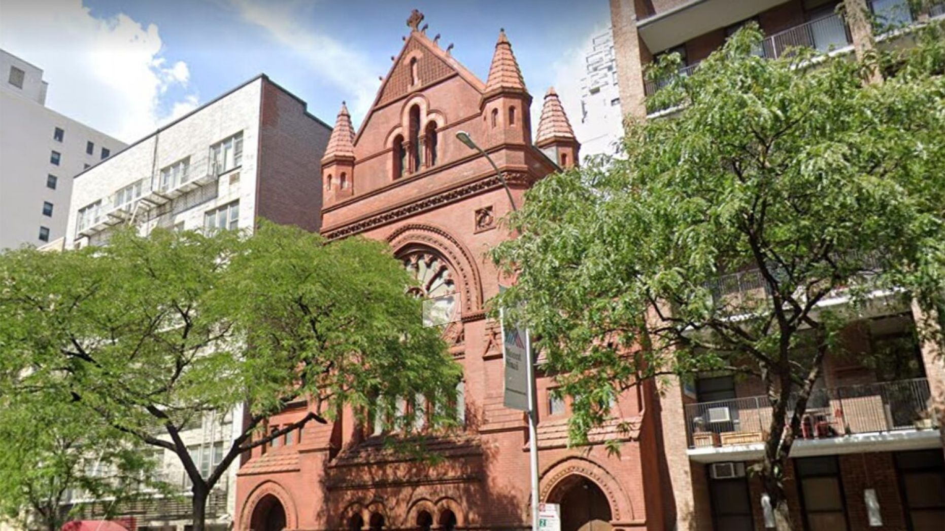 NYC church barricades front door after homeless try breaking in, defecating on steps