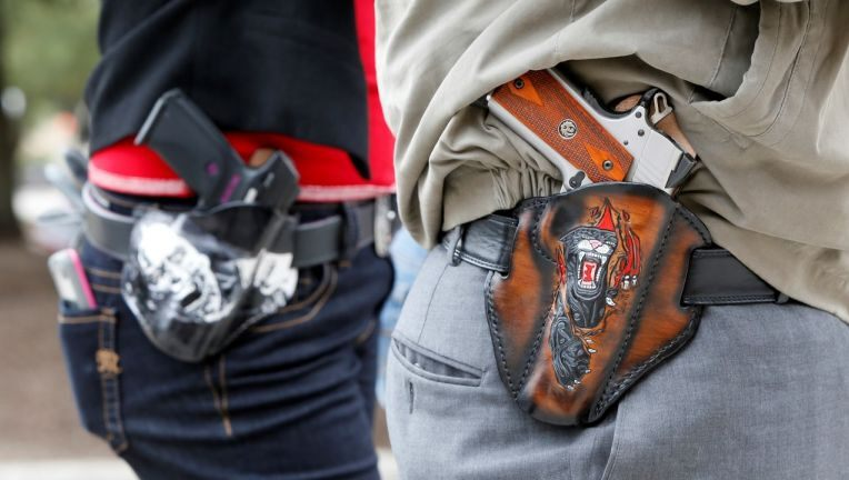 New Texas gun laws will relax restrictions, allowing guns on school campuses, churches