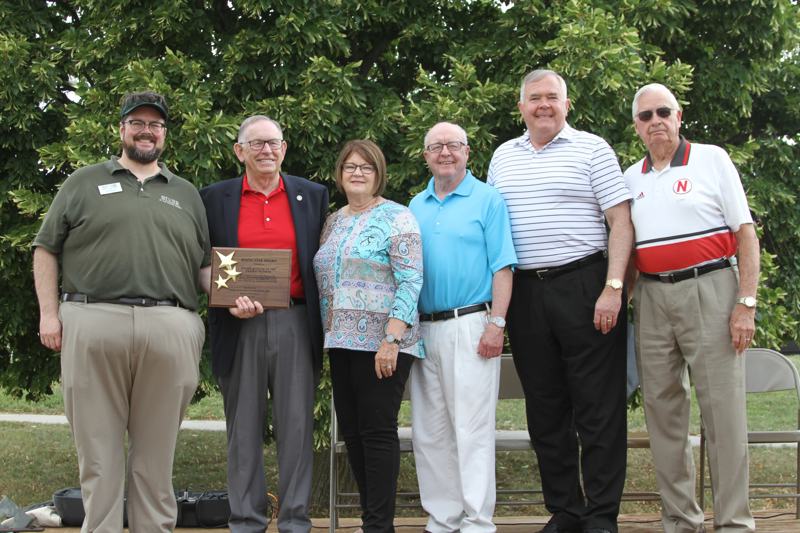 Stuhr Wins NebraskaLand Foundation Award