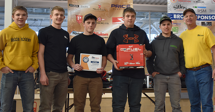 Carpentry - 1st Place
