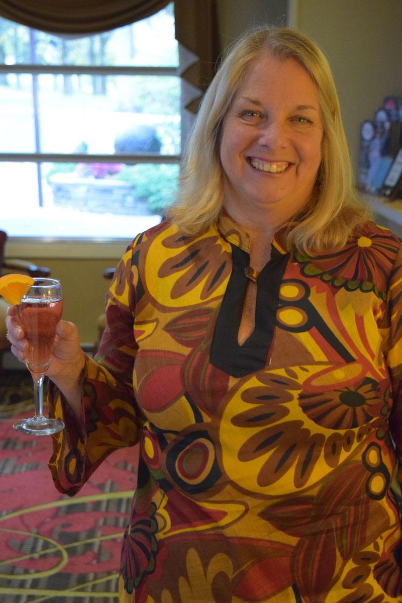 Committee member Cherie Hamilton