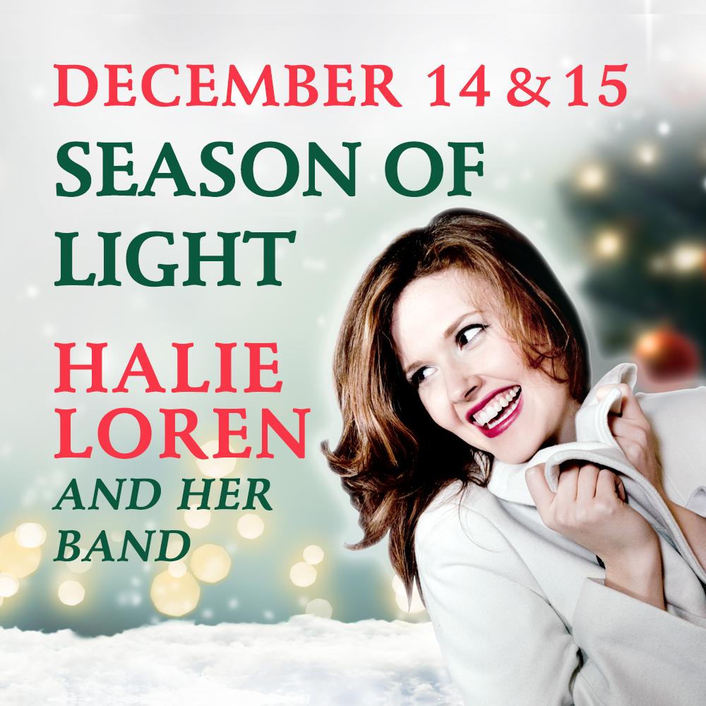 Enjoy some Holiday Magic with Halie Loren