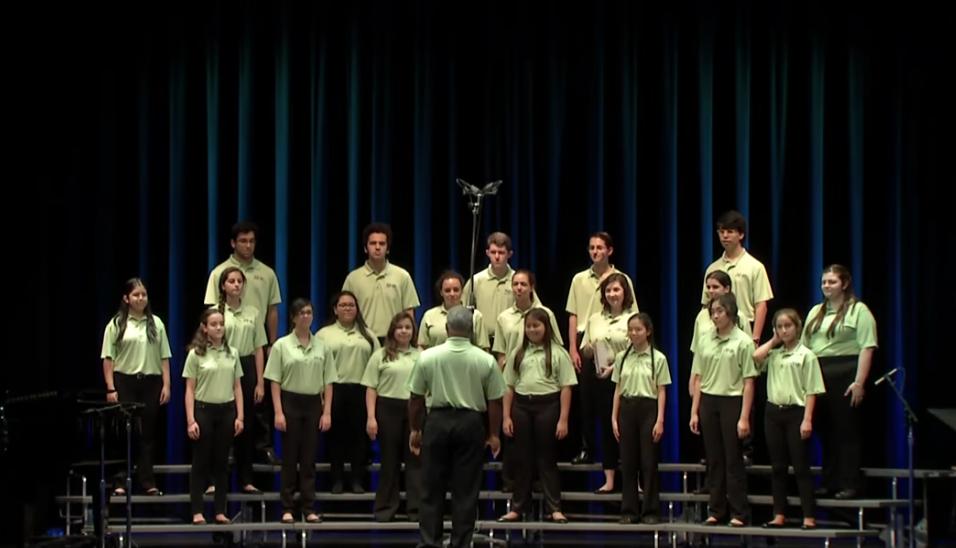 Miami Children's Chorus at The Kennedy Center, Millenium Stage - July 2017