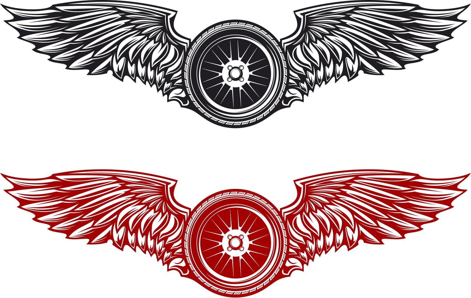 Wings Decal Wings Vehicle Decals