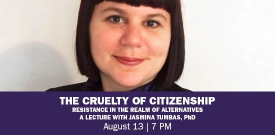 A lecture on migration in contemporary art with Jasmina Tumbas, Ph.D., August 13, 7 P.M.