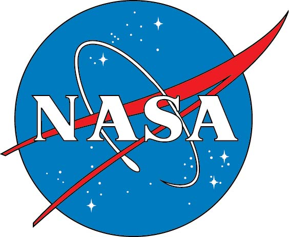 "U30426 - National Aeronautical & Space administration (NASA) ""Meatball"" Heritage Seal Carved Wood Wall Plaque"