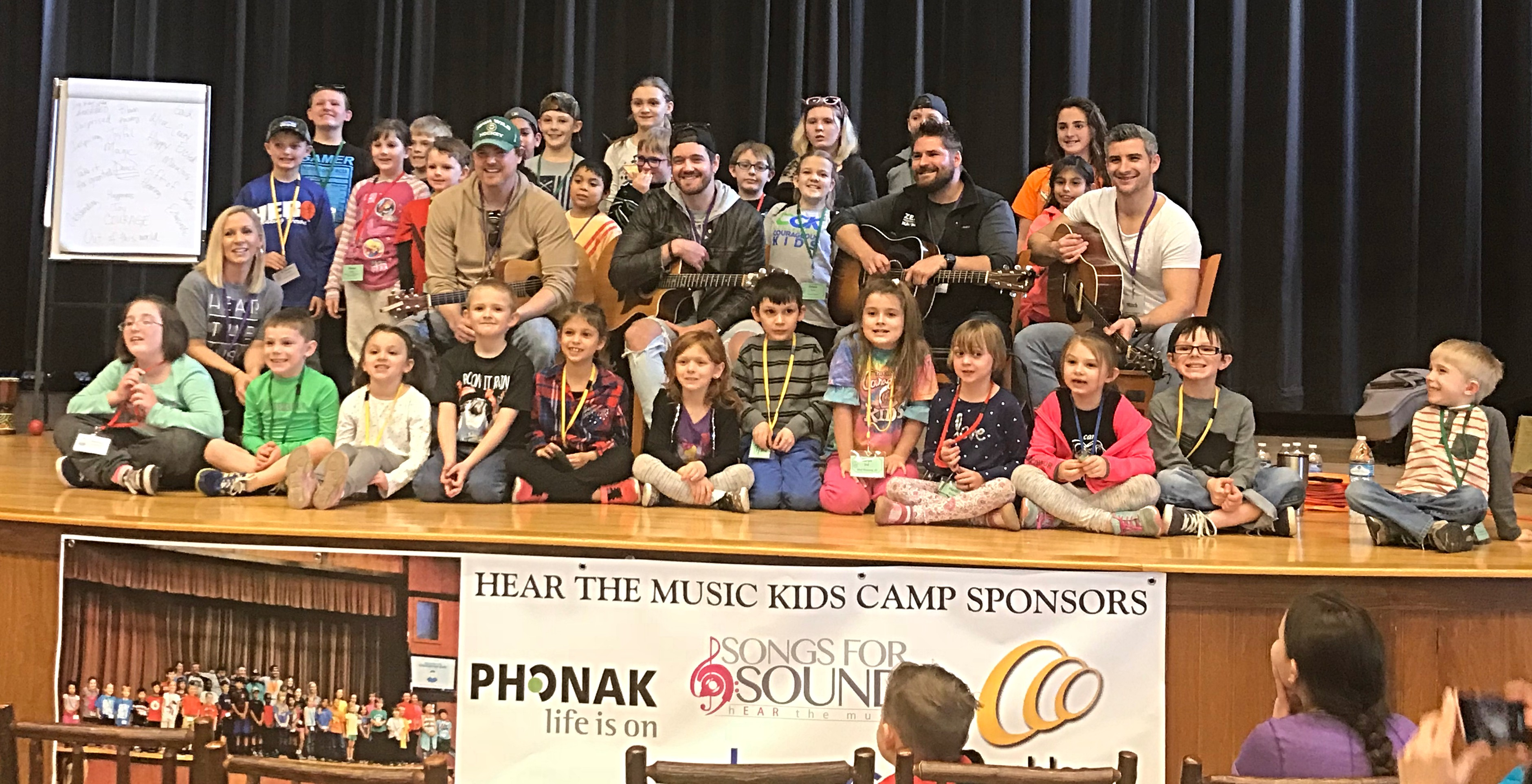 Hear the Music Kids Camp Sponsor - March 8-10, 2019