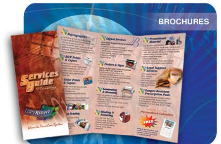 Brochures 8.5 x 11