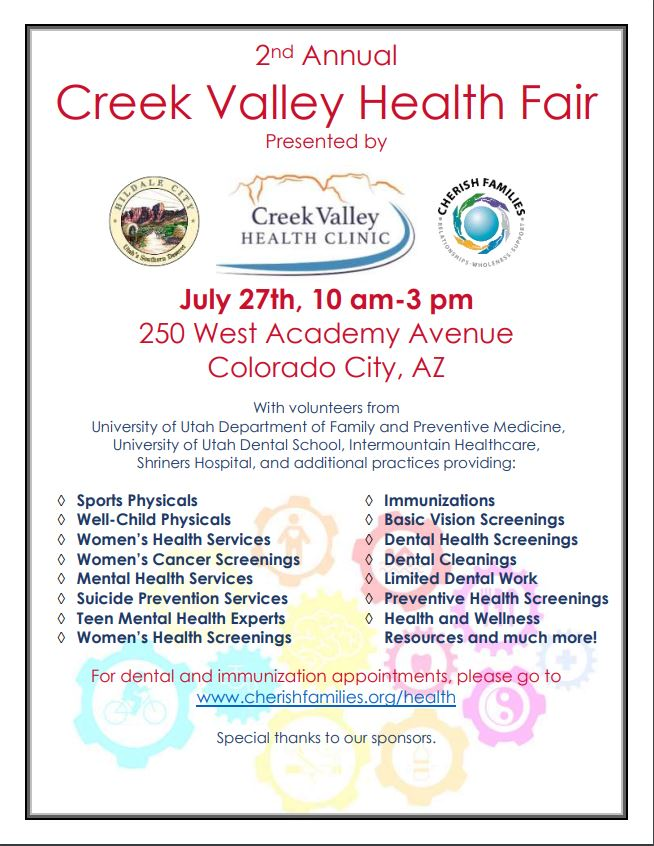 Creek Valley Health Fair