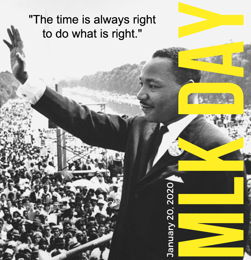 Office Closed January 20 in observance of MLK Day