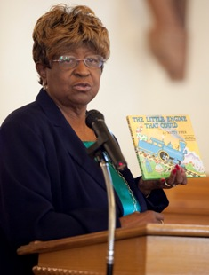 Rep. Barbara Boyd inspires Writing Our Stories Chalkville students