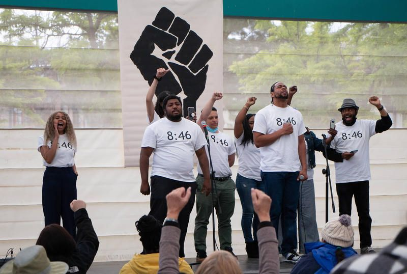 Missoulians Rally In Response To Armed Vigilantes At Racial Justice Events