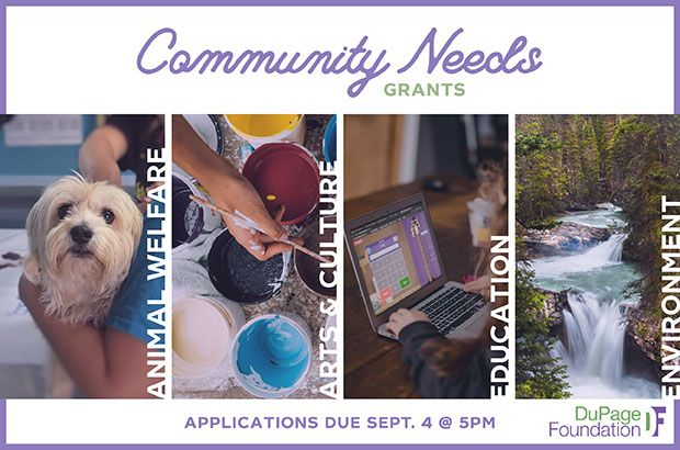 Fall Community Needs Grant Applications Due 5PM on Sept 4