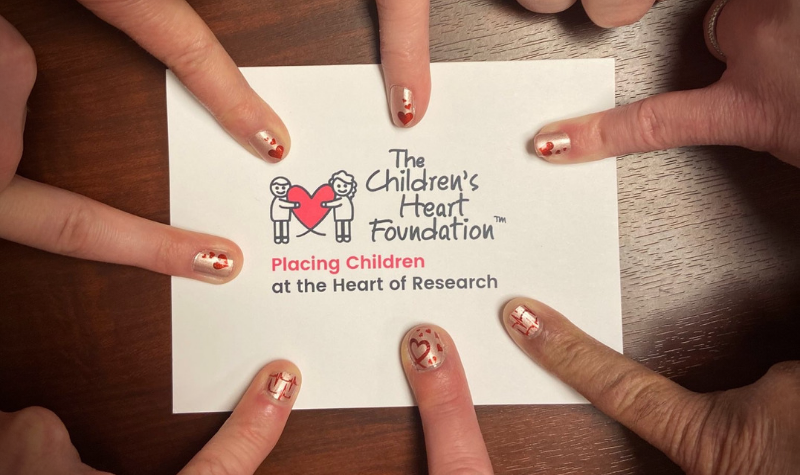 Color Street fundraiser nets $50,000 to support congenital heart defect research