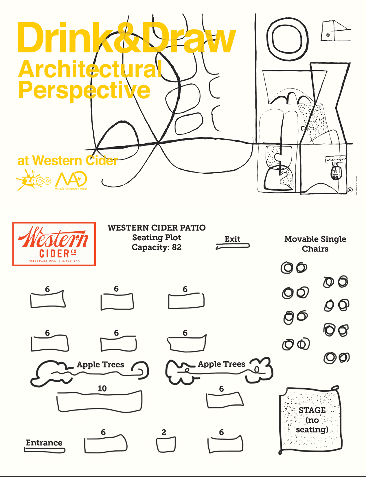 Drink & Draw Perspective with Missoula Architecture + Design