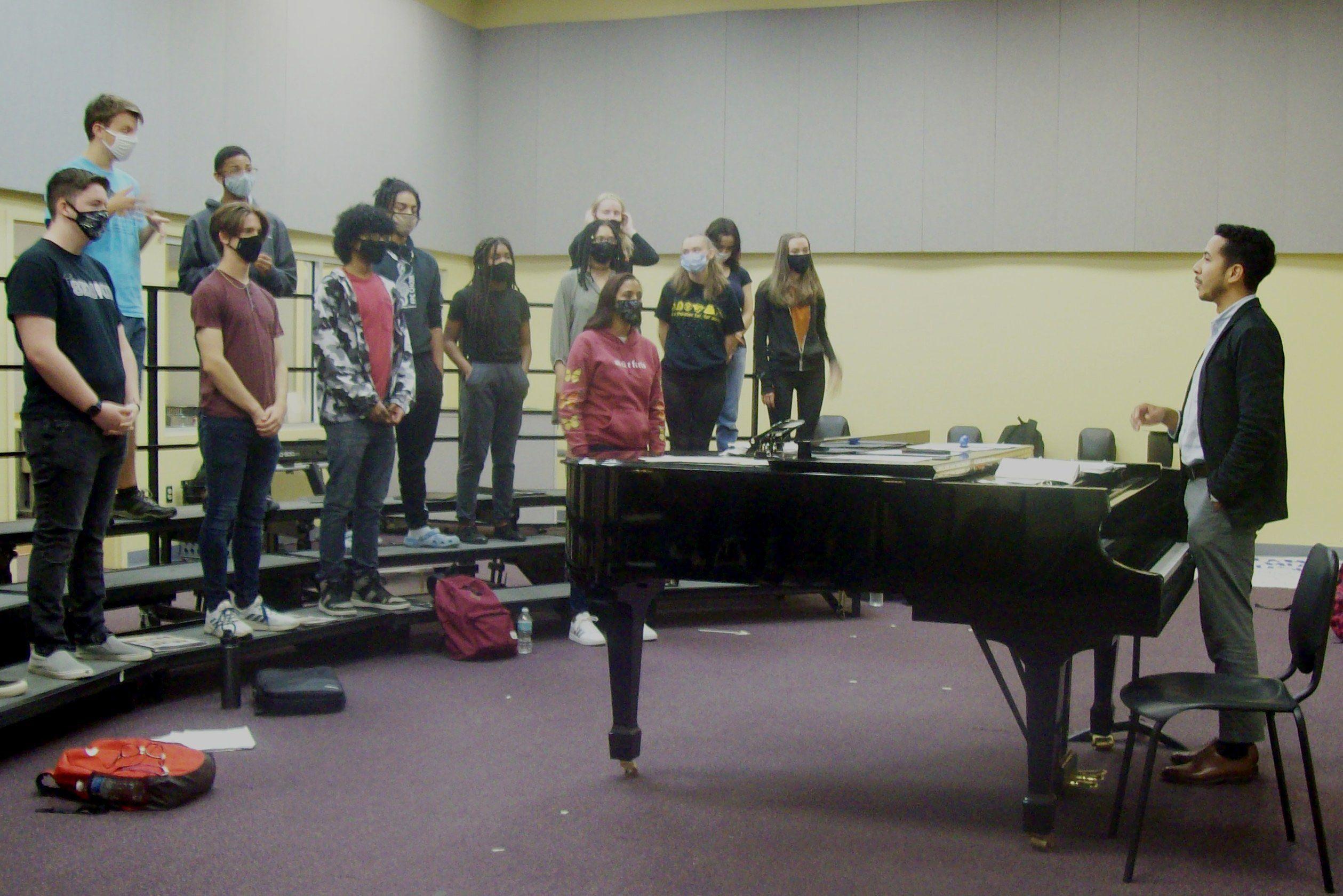 Teacher finds faith through music education