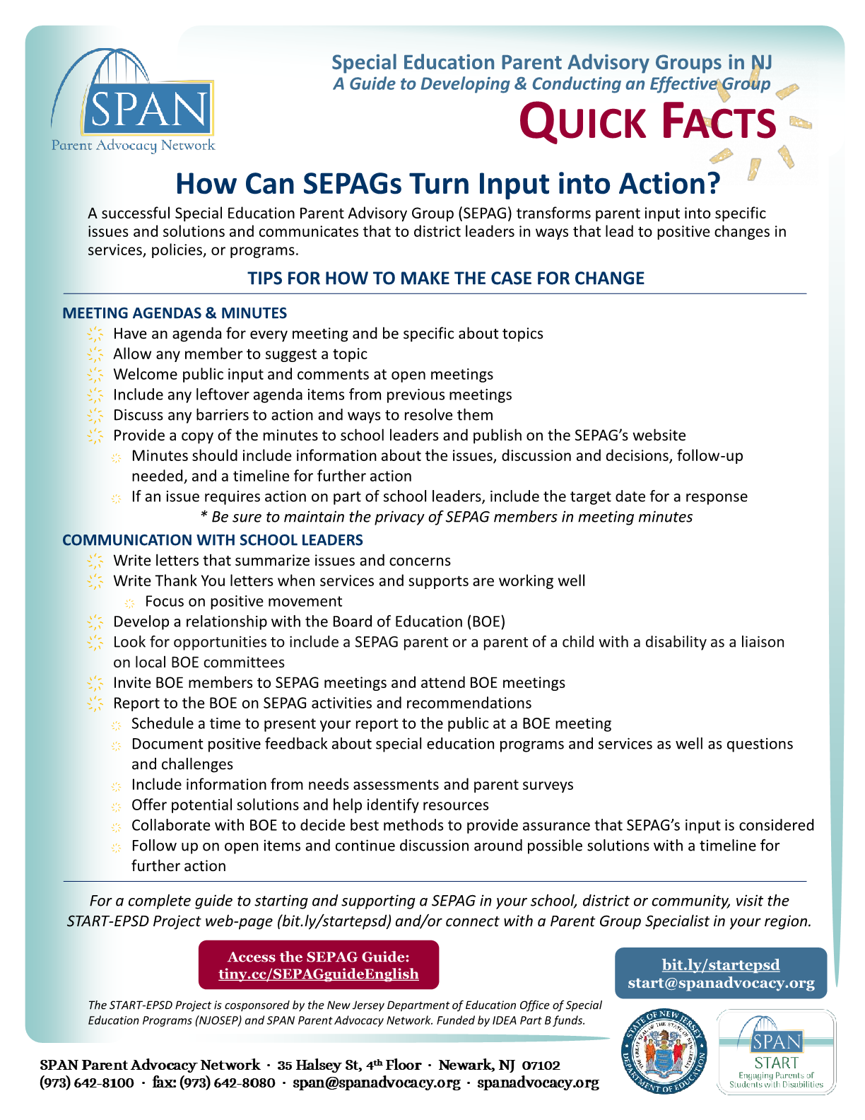How Can SEPAGs Turn Input into Action? | Quick Guide
