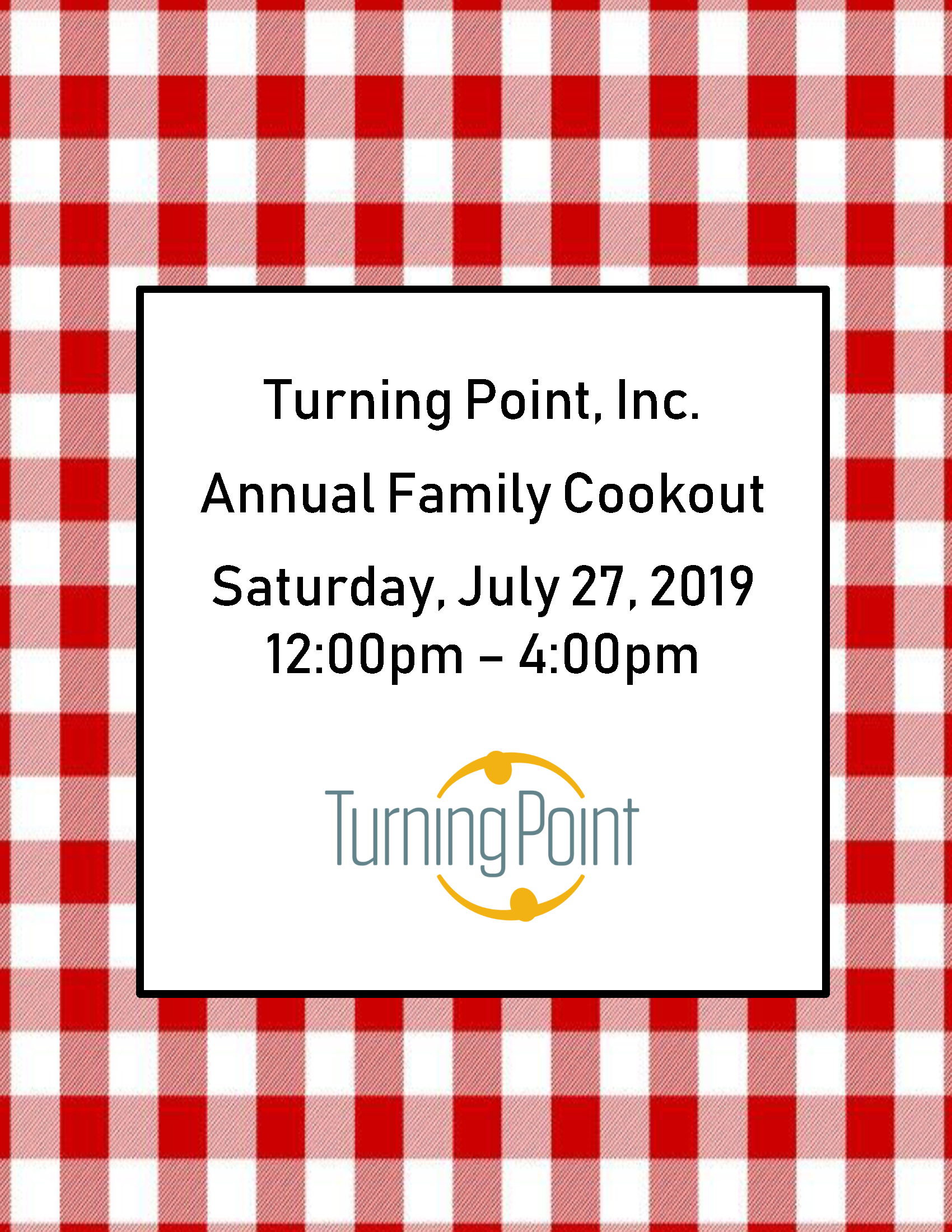 2019 Turning Point Cookout