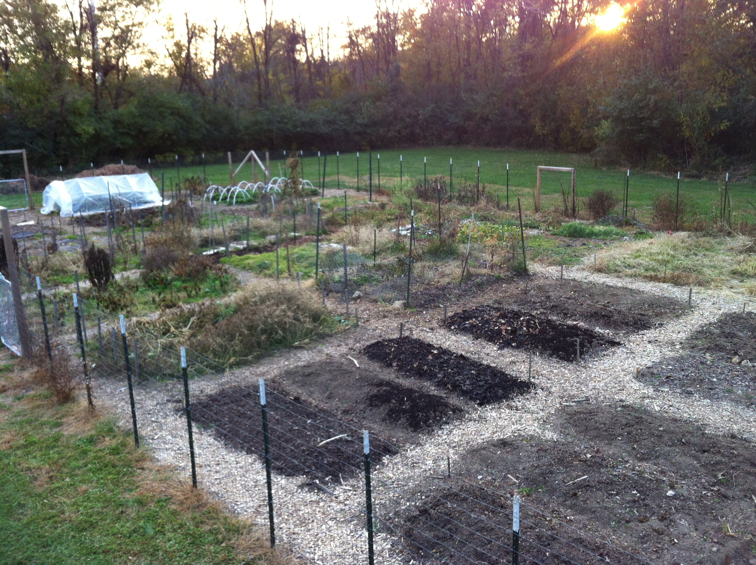 Garden Updates. Season Extension. Fall Preparations.