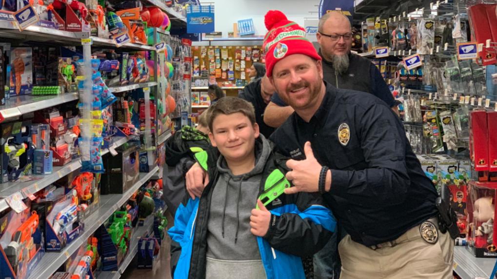 KUTV 2 News: Police Departments Spread Holiday Cheer