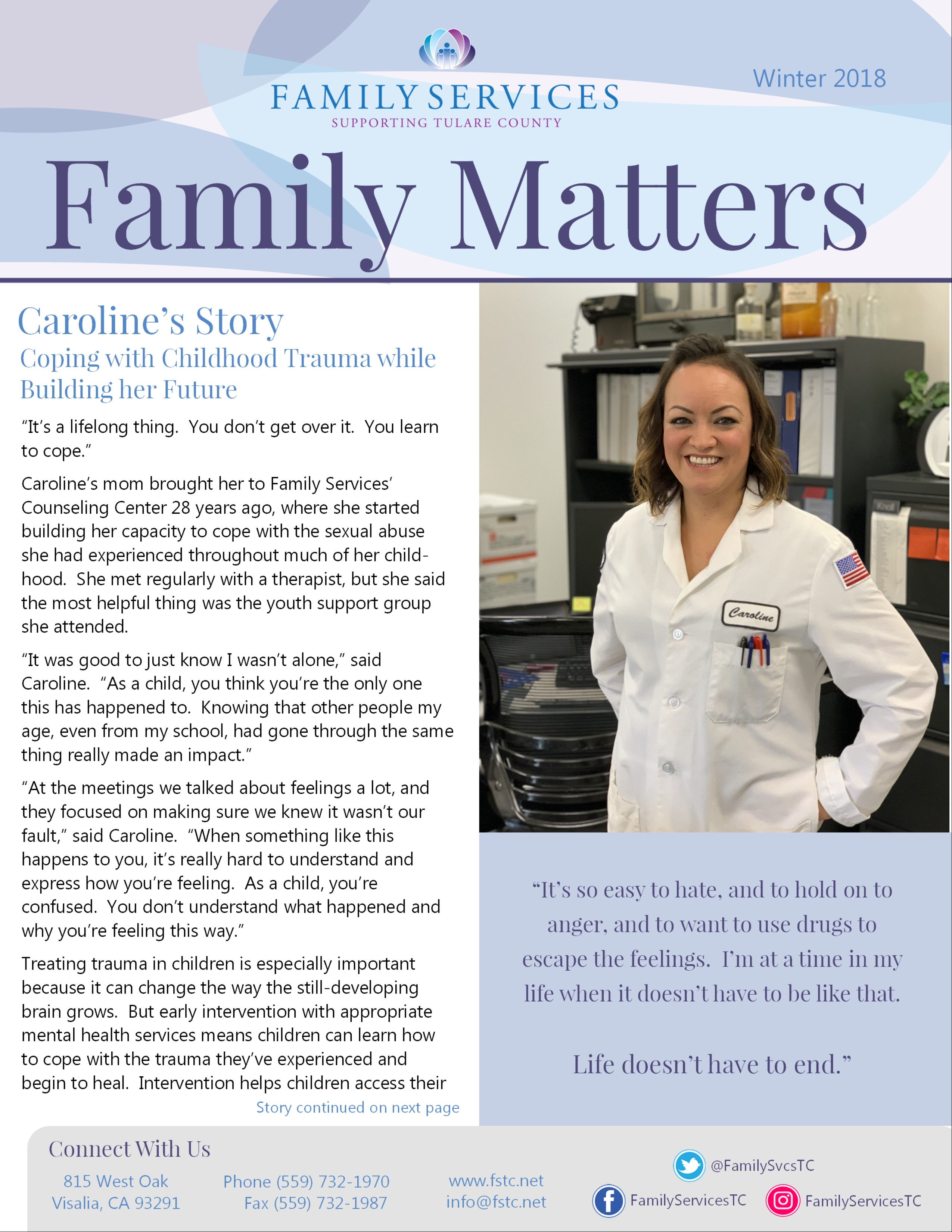 Download Family Services' Winter Newsletter