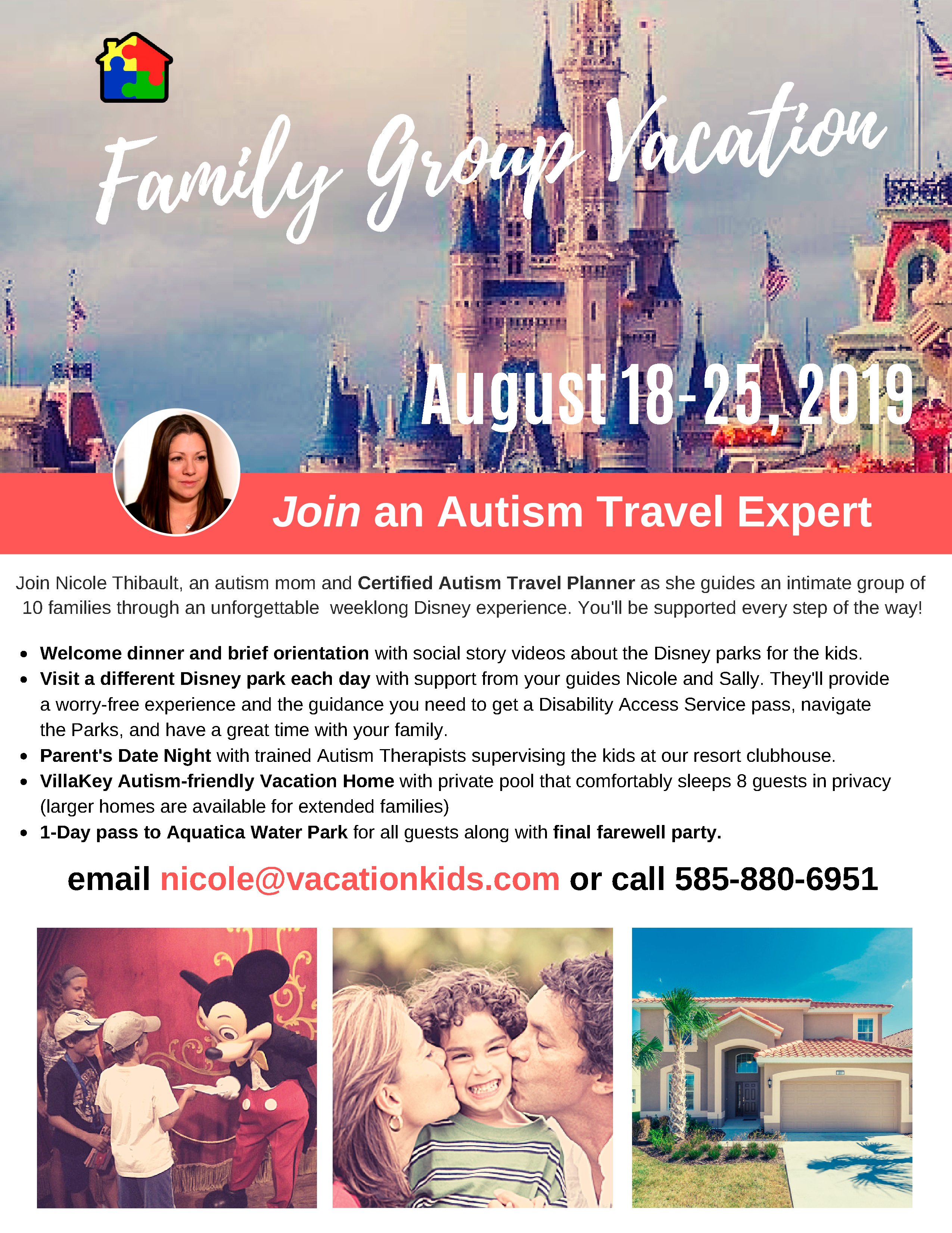 Autism-Friendly Disney Vacation with VillaKey