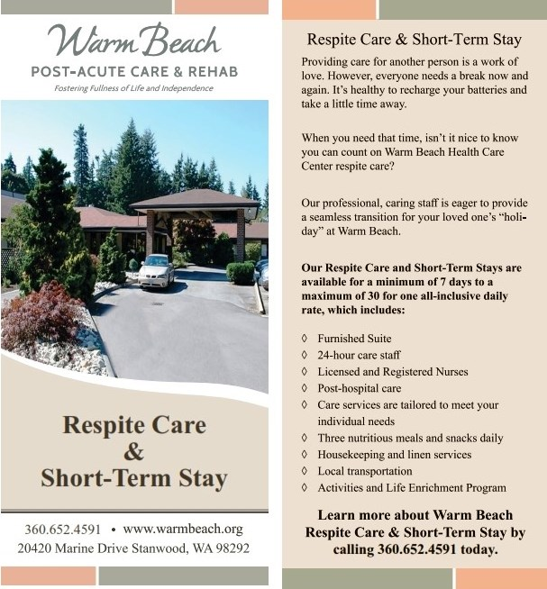 Warm Beach Post Acute Care & Rehab Respite Care and Short-Term Stay