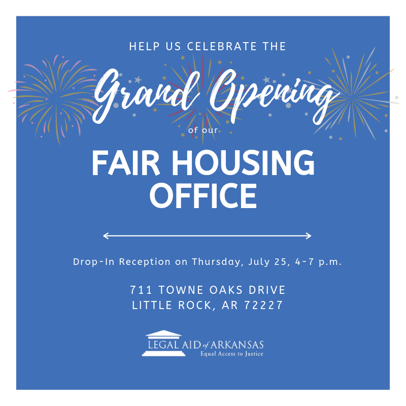 Grand Opening: Fair Housing Office