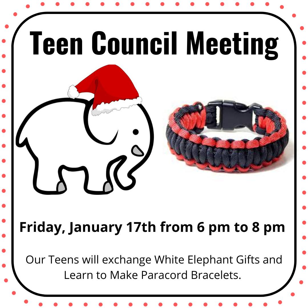 Teen Council Meeting
