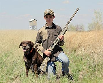 Delta Awards Shotgun to First Hunt Participant