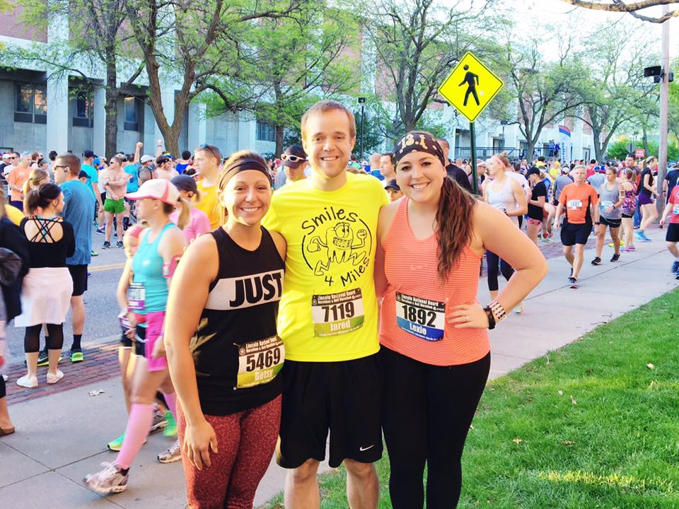 Our Marathon runners