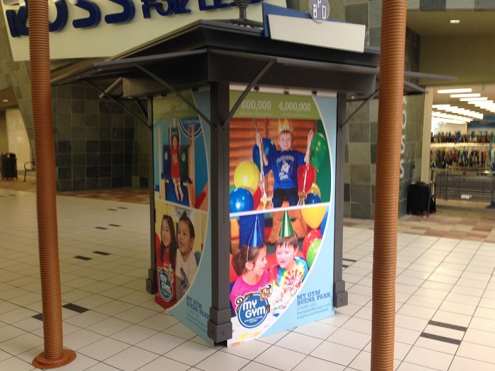 Mall Kiosk Graphics