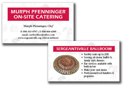 Pfenninger On-site Catering