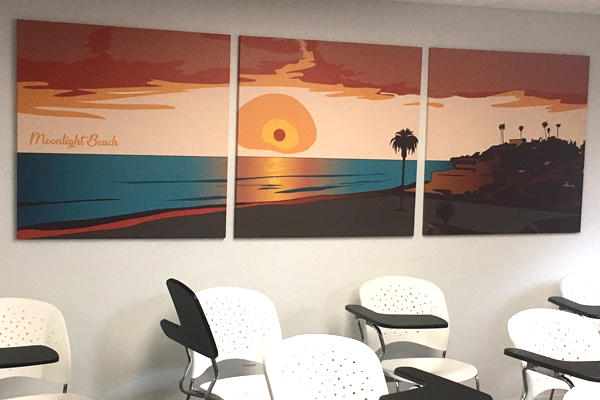 Wall Graphics: Beach Series 2