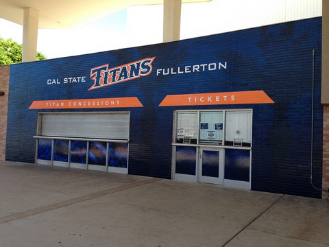 Vinyl Wall Wraps for School Concession Stands in Orange County
