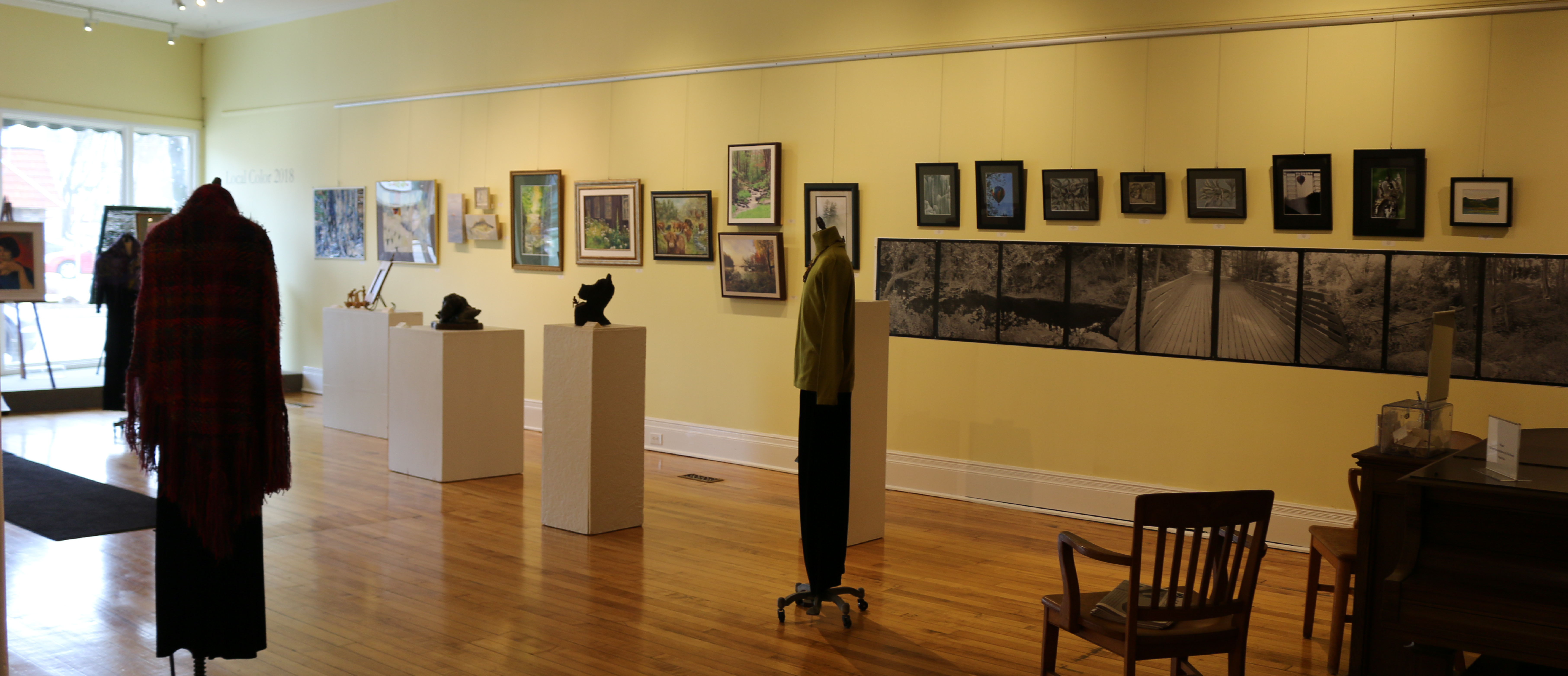 Local Color Members' Show: Explore the 2018 Traverse Theme at the Main Gallery