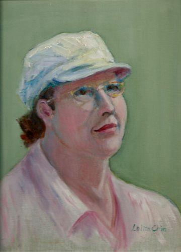 """Margaret, oil, 12"""" x 9"""""""