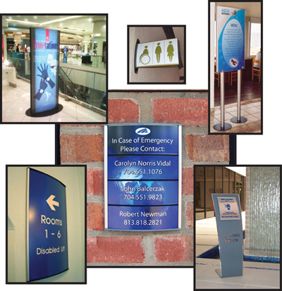 Curved Modular Sign Systems